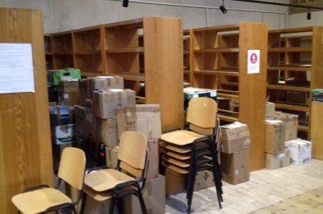 Biblioteka zamknięta.
