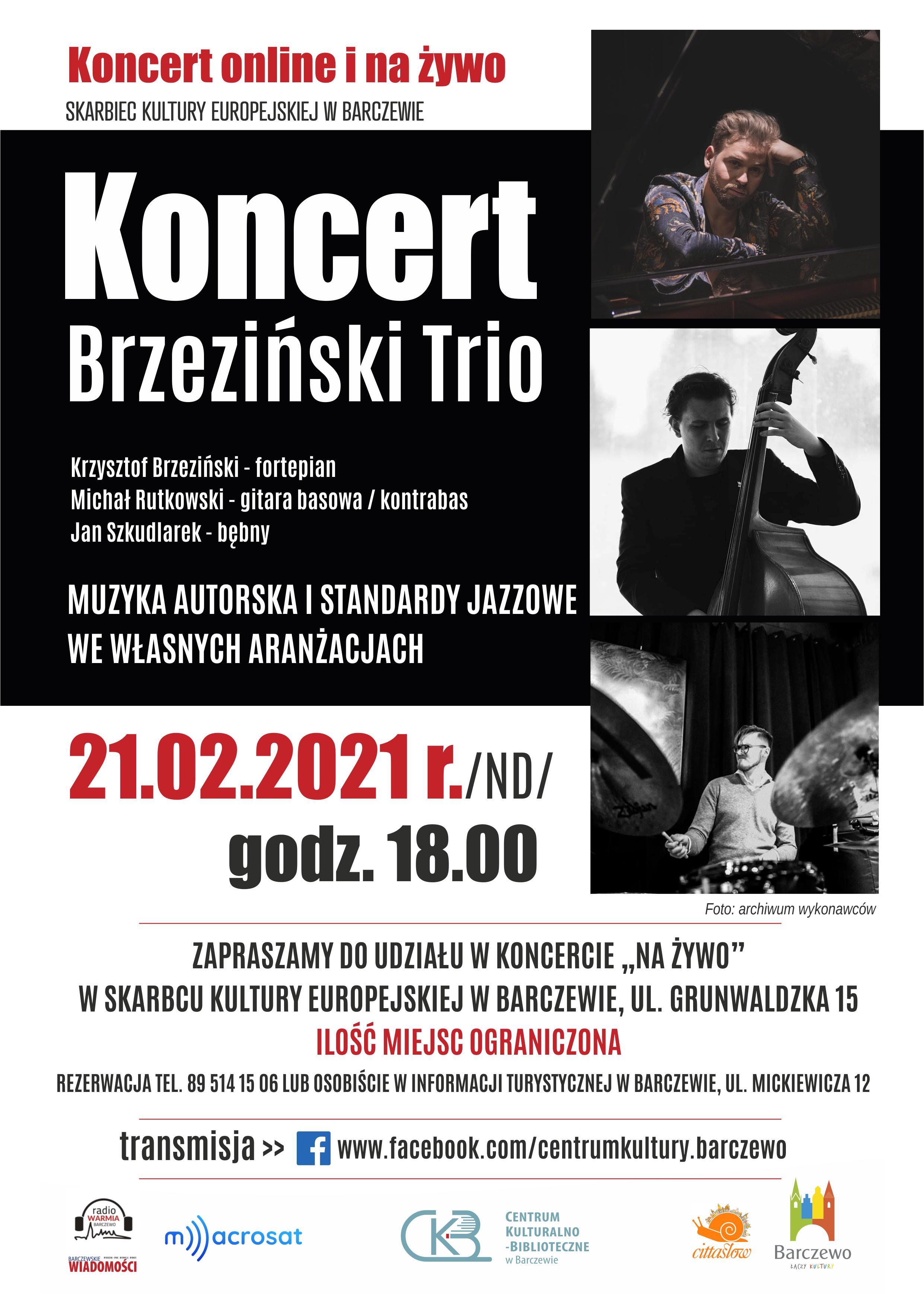 Koncert Brzeziński Trio