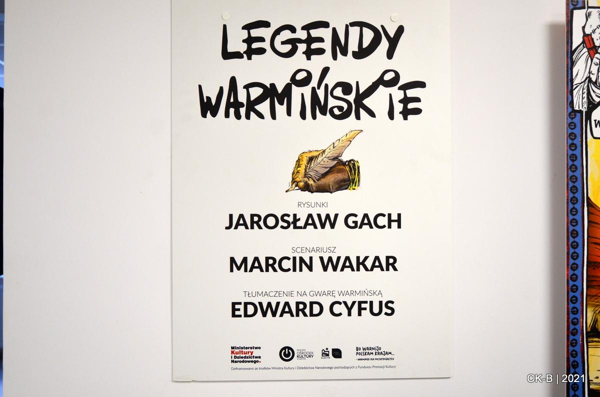 """Wystawa """"Legendy Warmińskie"""""""