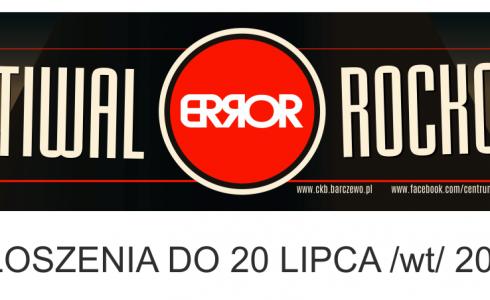 ERROR 2021 – zgłoszenia
