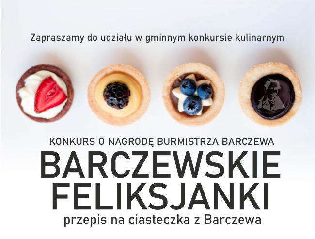 Ciasteczka z Barczewa – konkurs